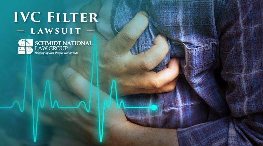 IVC Filter Injuries: Blood Clot Filter Lawsuit Schmidt National Law Group 6