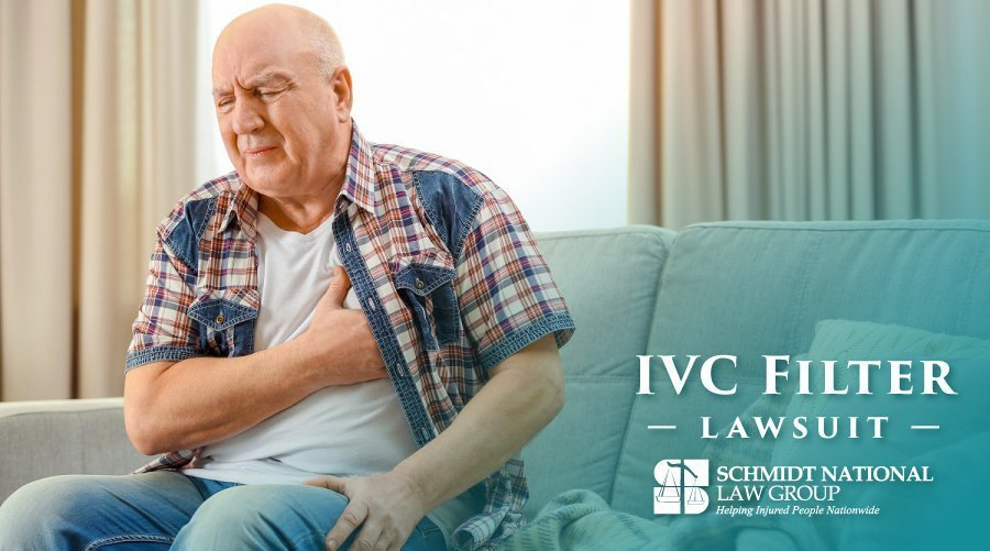 IVC Filter Injuries: Blood Clot Filter Lawsuit Schmidt National Law Group 3