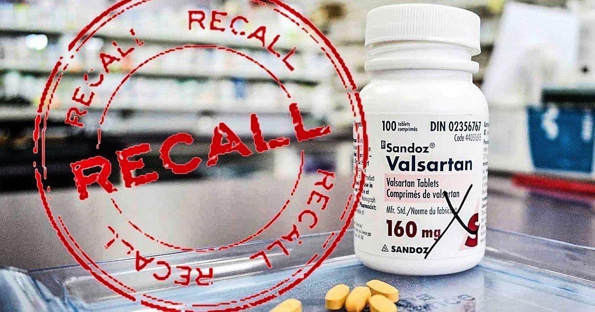 valsartan recall cancer risk