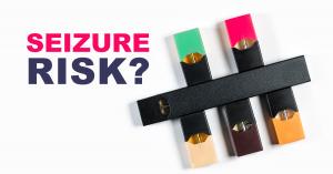 juul e-cigarette seizure risk