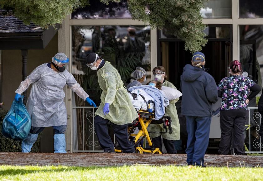 COVID-19 Nursing Home deaths climb