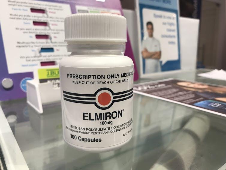 elmiron bladder blindness warning